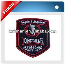 embroidery patches for sports wear