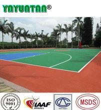 PU outdoor basketball sports flooring