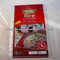 opp laminado pp saco tecido / saco de arroz de 50 kg