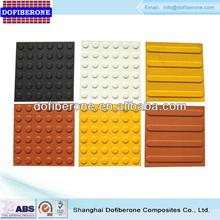 Fiberglass SMC & PU tactile tile, SS tactile indicator