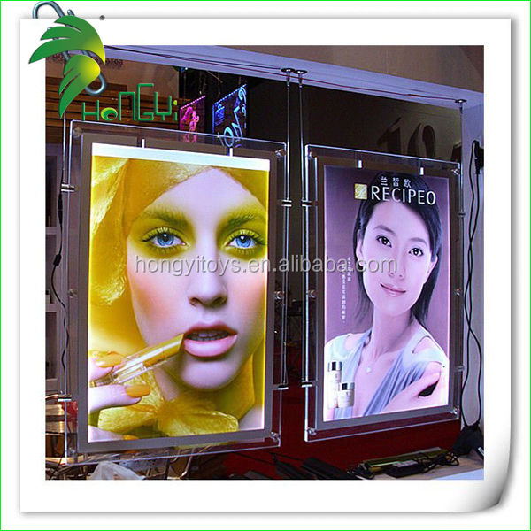 Popular crystal led light box with custom designs.jpg