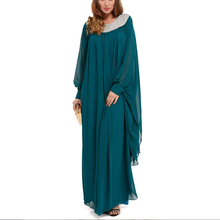 Wholesale custom fashion Dubai fashion beaded design women's fashion muslim clothing imported from china