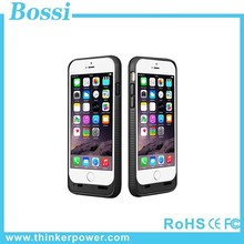 3600mAh battery case mobile phone power bank manual solar power tent for sale new products USB travel charger case for Iphone 6
