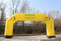 2015 waha yellow used inflatable arch for Festival