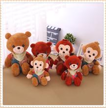 custom Mini stuffed animal small toys plush monkey,stuffed toy