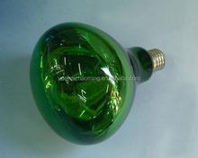 Frost infrarrojos lámpara de calor de carbono para secado de pintura R40 R125 luz infrarroja