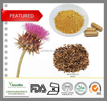 2015 HOT-SELLING!!!Top quality natural Silymarin Milk thistle, Milk Thistle extract, silymarin 80%/CAS 22888-70-6