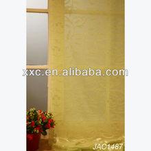 Popular Elegant Sheer fabric window curtain