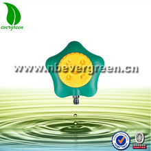 5245 ground-set sprinkler of five corner shape for garden