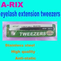 Professional Eyelash Extension Tweezers Straight & Curved