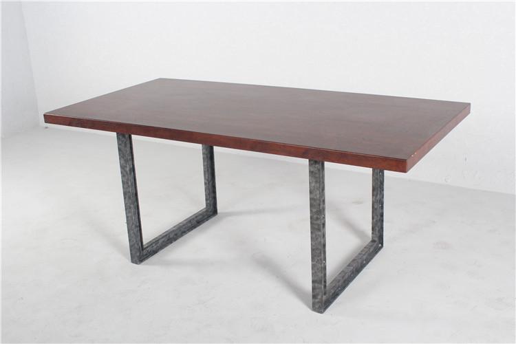 Nieuw modern ontwerp en roestvrij staal en houten eetkamer meubelen houten tafels product id - Ontwerp eetkamer design ...