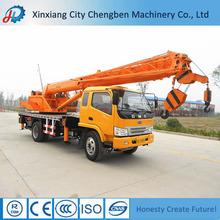 Construction Equipment Dubai Truck Cranes with Double Lifting Hook