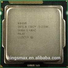 Intel cpu utilizada i5-2550k i7 i3