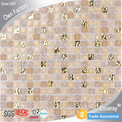 Home Decor 2014 new trend glass mosaic tile Interior Backsplash SD002