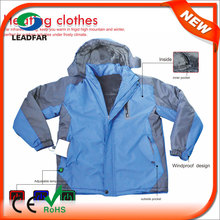 HJ08 7.4v Heated woman coat 2014 2015, winter coat for women
