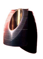 copper extruded tube fin for air cooled heat exchanger