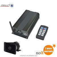 wireless remote Car Siren amplifier &microphone for smartphones (JBQ101)