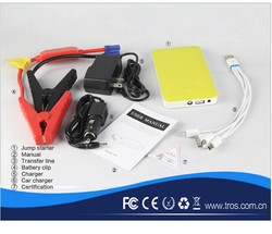Made in china 8000 mah emergency tool kit car jump starter boost engine three wheel motorcycle