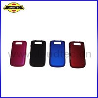 Colorful Hybrid Rubber Rubberized hard case back cover for BlackBerry Torch 9800