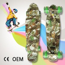 CE Approved OEM Plastic Fish Skateboard