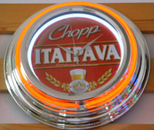 personalized neon light bar signs wall clocks for sale
