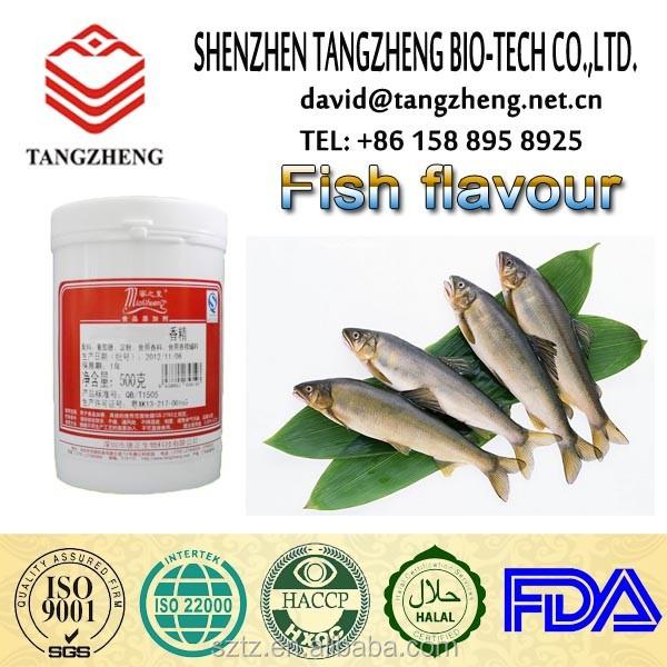 L'exportation de poisson en poudre saveur saumon fumé saveur