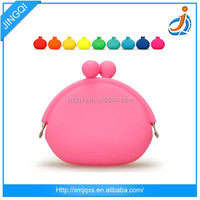Pink cute hot sale high quality silicone tote bag