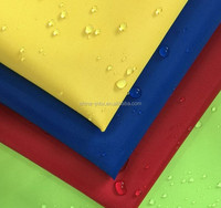 popular pu coated waterproof 210d polyester oxford fabric
