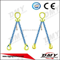 G80 Super Quality G80 steel Chain Slings with Connecting Links