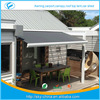 New free standing retractable awnings /sliding awning Prefab Electric Retractable door entrance awning