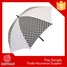 large size auto open straight promotional golf umbrella