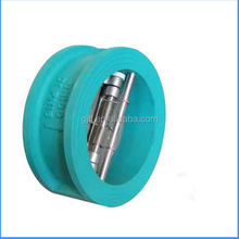 SS304 body double door Wafer Check Valve 4''