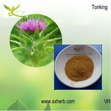 Fábrica tonking 100% naturales de la leche de cardo extracto de alta calidad