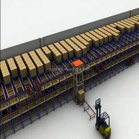 Warehouse storage racks radio shuttle racking, Automantic Remoted Radio shuttle racks for warehouse system