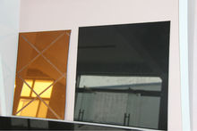Sheet Glass Prices/Gold Reflective Glass/Glass Price per Square Meter/Many Kinds of Glass Colors/Decorated Glass Shower Cabinet
