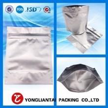 plastic stand up ziplock aluminum foil packaging bags