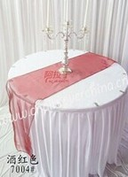 Hot sale high quality wedding/banquet/hotel organza table runner for round table