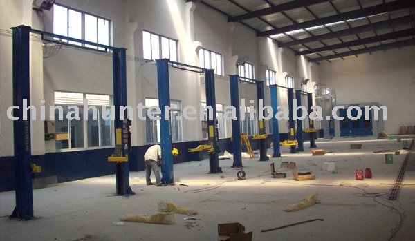 Auto repair workshop design and all needed auto equipment for Automotive shop design