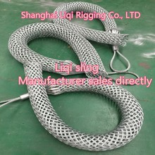 clip metal/Wire Mesh Grip/Cable Grips Cable Socks