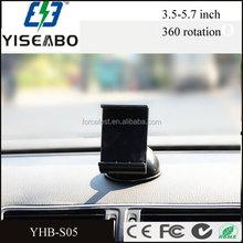 Universal 360 Rotating Car Windshield Mount Holder Stand Bracket Phone GPS White
