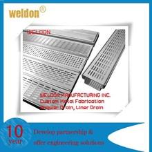Weldon 2015 hot sale floor drain strainer stainless brass steel floor drain strainer
