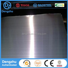 high quality brush finish cold rolled 304 stainless steel plate/sheet