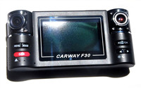 2015 DLS 2.7 inch TFT LCD dual lens Car dvr camera/Car black box / Car camcorder F30 with SOS,Unique human voice