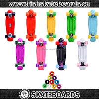 New 22 Inch CE/EN13613 plastic skateboard for sale/fish skateboard Penni Skateboards longboards