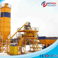 HZS25 modular dry fixed ready mixed mini concrete mixing plant