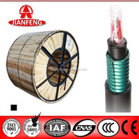 10 pair underground telephone cable with PE Jacket
