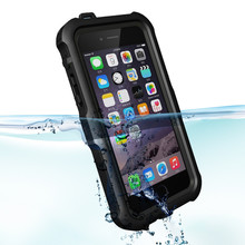 2015 hot outdoor Phone waterproof case for iphone 6, for iphone 6 shockproofproof case