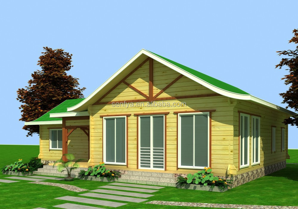 Cabane en bois de qualite