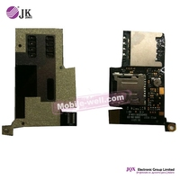 [JQX] Cell Phone SIM Card Holder Reader Flex Cable For HTC Desire A8181