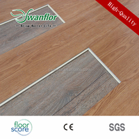 Waterproof Interlocking PVC Floor Sheet,Anti-slip Uniclick LVT Flooring
